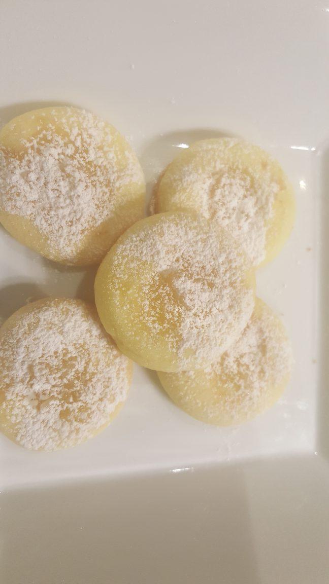 biscotti morbidi con marmellata al limone