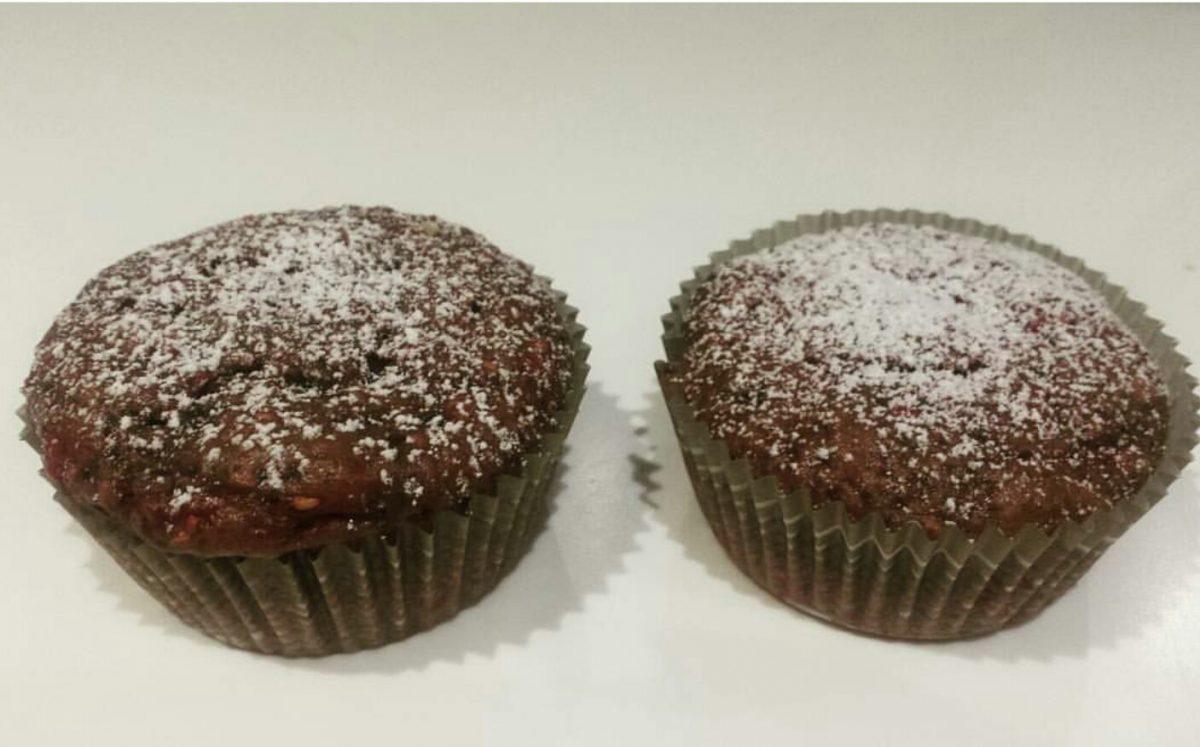 muffin ai frutti di bosco senza lattosio e lievito