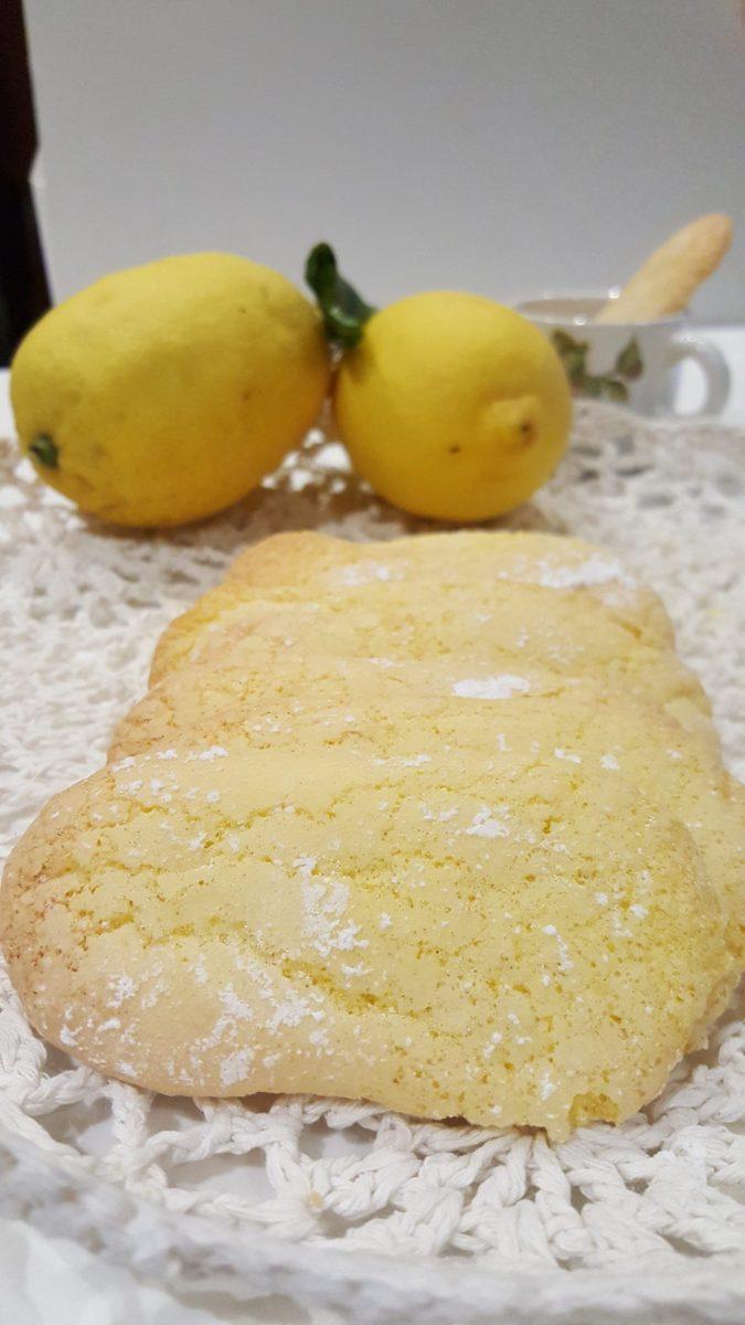 Biscotti savoiardi al limone