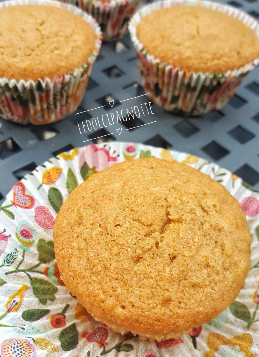 Muffin al cocco e caffè