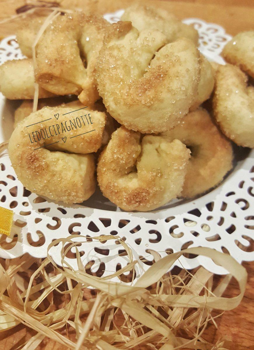 Taralli dolci con esubero di pasta madre