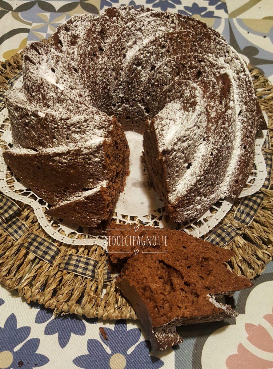 Bundt cake al profumo di arancia e cioccolato