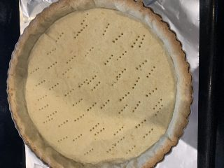 crostata con mousse di fragole