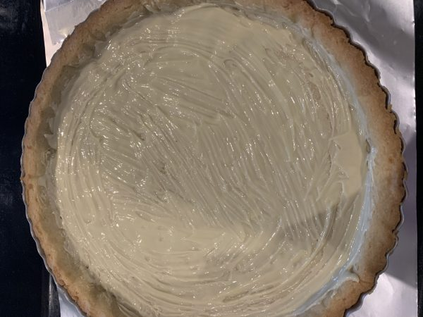 crostata mousse di fragole