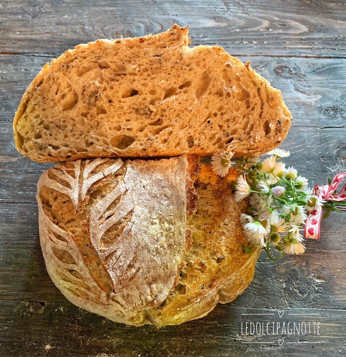 Pane con semini misti