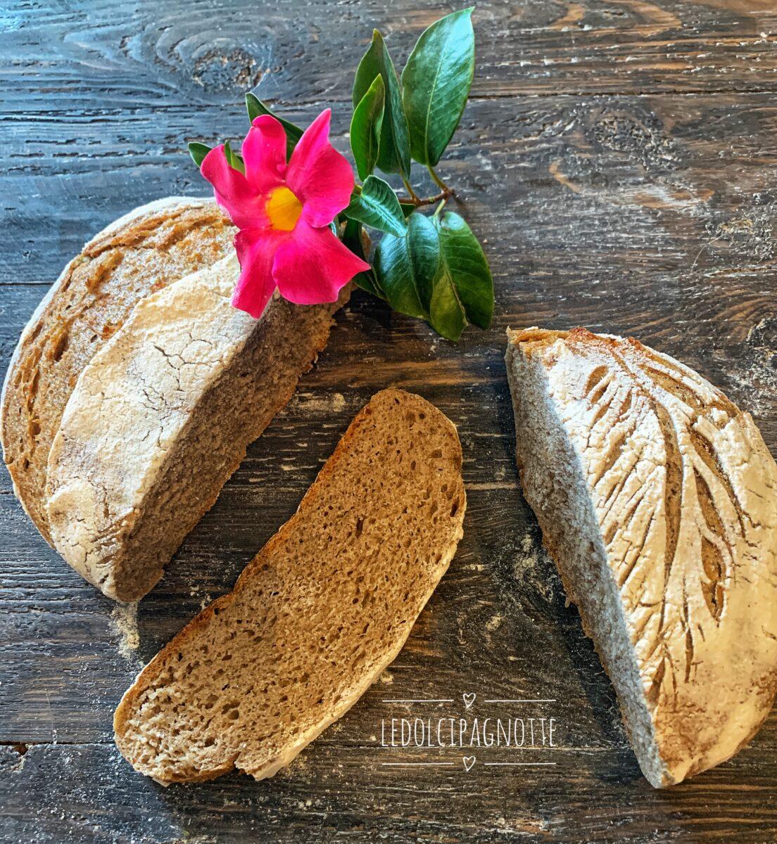 Pane con segale integrale